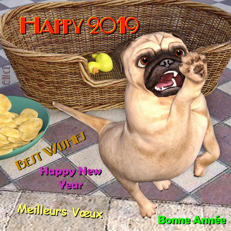 Puggy New Year