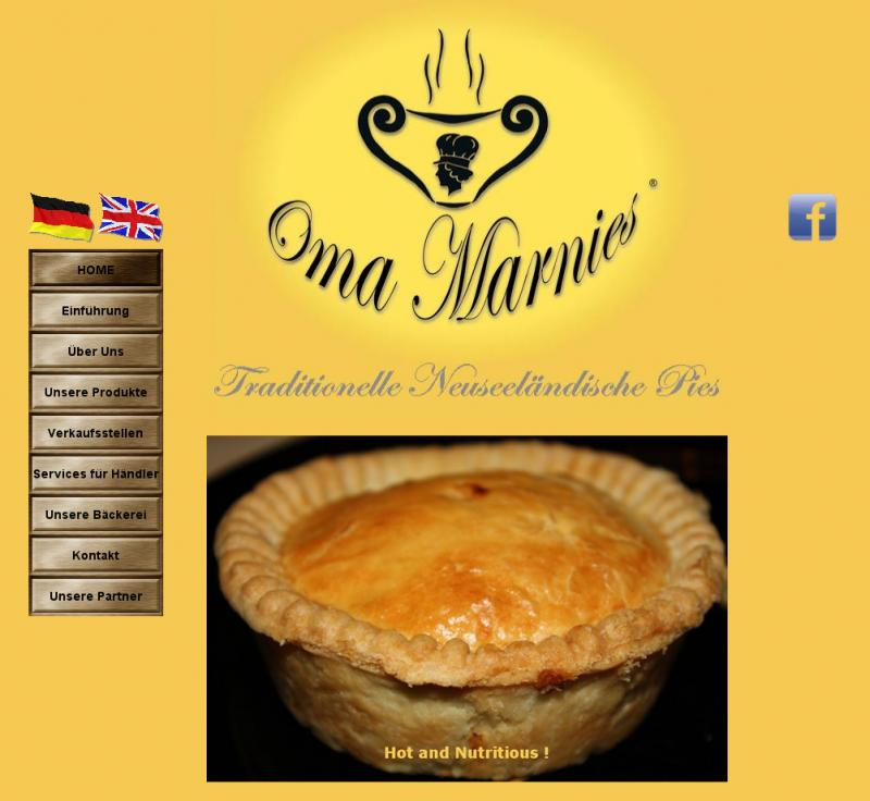 Oma Marnies' Pies Home Page
